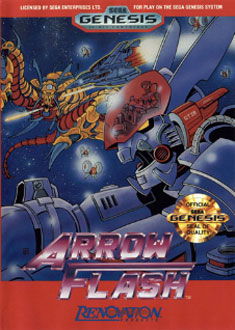 Carátula del juego Arrow Flash (Genesis)