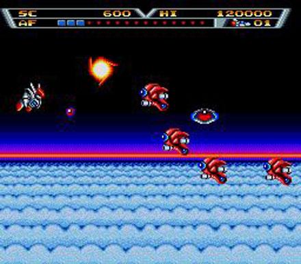 Pantallazo del juego online Arrow Flash (Genesis)