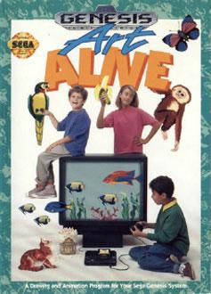 Carátula del juego Art Alive (Genesis)