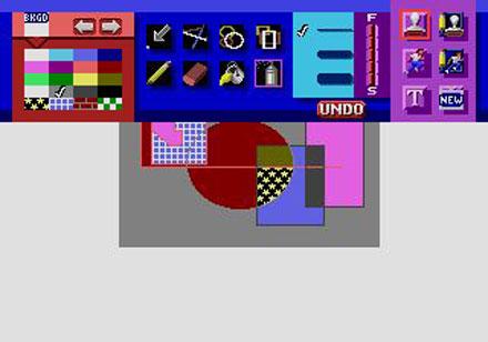 Pantallazo del juego online Art Alive (Genesis)