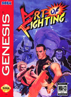 Carátula del juego Art of Fighting (Genesis)