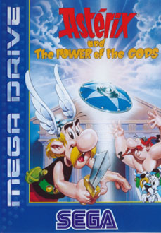 Carátula del juego Asterix and the Power of the Gods (Genesis)