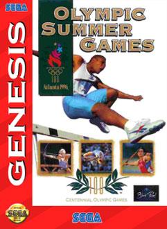Carátula del juego Olympic Summer Games Atlanta 96 (Genesis)