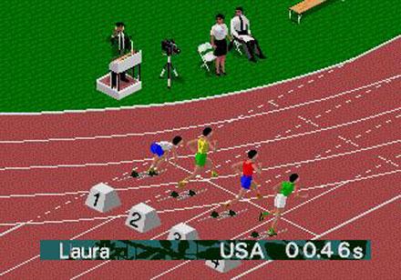 Pantallazo del juego online Olympic Summer Games Atlanta 96 (Genesis)
