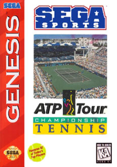 Carátula del juego ATP Tour Championship Tennis (Genesis)
