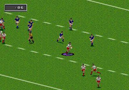 Pantallazo del juego online Australian Rugby League (Genesis)