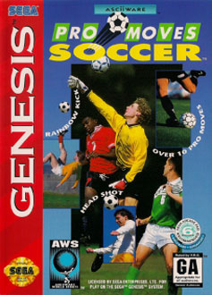 Carátula del juego AWS Pro Moves Soccer (Genesis)