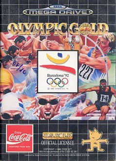 Carátula del juego Olympic Gold  Barcelona '92 (Genesis)
