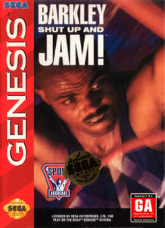Carátula del juego Barkley - Shut Up and Jam (Genesis)