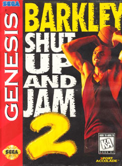 Carátula del juego Barkley - Shut Up and Jam 2 (Genesis)