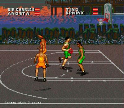 Pantallazo del juego online Barkley - Shut Up and Jam 2 (Genesis)