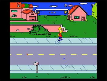 Imagen de la descarga de The Simpsons: Bart's Nightmare