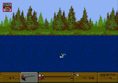 Pantallazo del juego online BASS Masters Classic (Genesis)