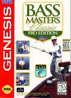 Carátula del juego BASS Masters Classic - Pro Edition (Genesis)