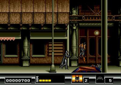 Pantallazo del juego online Batman - The Video Game (Genesis)