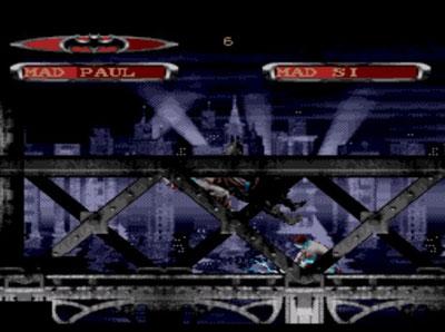 Pantallazo del juego online Batman Forever (Genesis)