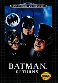 Carátula del juego Batman Returns (Genesis)