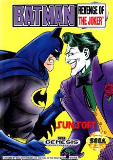 Carátula del juego Batman - Revenge of the Joker (Genesis)