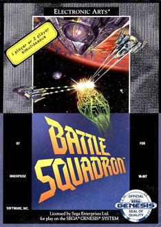 Carátula del juego Battle Squadron (Genesis)