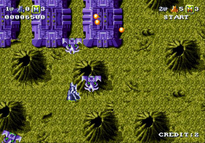 Pantallazo del juego online Battle Squadron (Genesis)