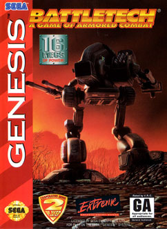Carátula del juego BattleTech - A Game of Armored Combat (Genesis)