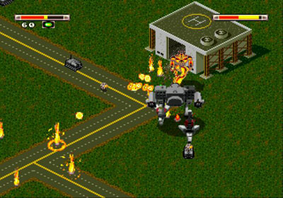 Pantallazo del juego online BattleTech - A Game of Armored Combat (Genesis)