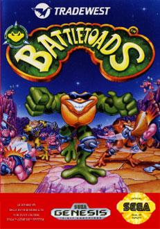 Carátula del juego Battletoads (Genesis)
