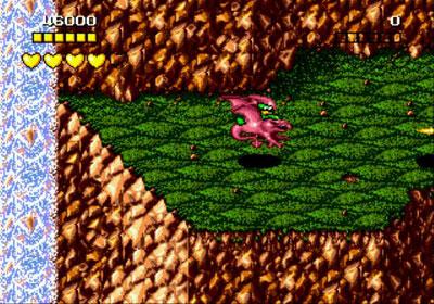 Pantallazo del juego online Battletoads (Genesis)
