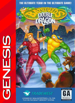 Carátula del juego Battletoads - Double Dragon - The Ultimate Team (Genesis)