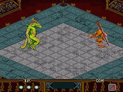 Pantallazo del juego online Beast Wrestler (Genesis)