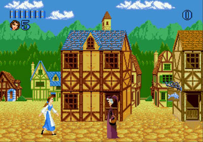 Pantallazo del juego online Disney's Beauty and the Beast - Belle's Quest (Genesis)