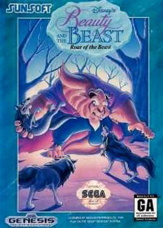 Carátula del juego Disney's Beauty and the Beast - Roar of the Beast (Genesis)