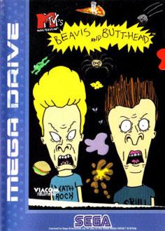 Carátula del juego MTV's Beavis and Butt-head (Genesis)