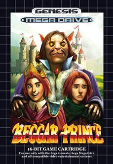 Carátula del juego Beggar Prince (Genesis)