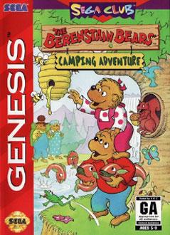 Carátula del juego The Berenstain Bears' Camping Adventure (Genesis)