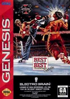 Carátula del juego Best of the Best Championship Karate (Genesis)