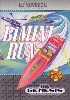 Carátula del juego Bimini Run (Genesis)