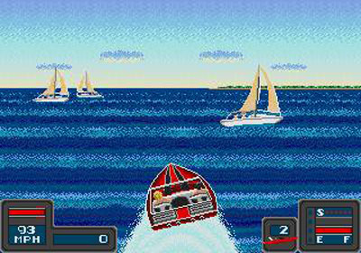 Pantallazo del juego online Bimini Run (Genesis)