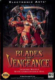 Portada de la descarga de Blades of Vengeance