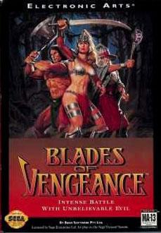 Carátula del juego Blades of Vengeance (Genesis)