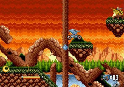 Pantallazo del juego online Blaster Master 2 (Genesis)