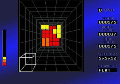 Pantallazo del juego online Block Out (Genesis)