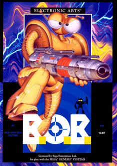 Carátula del juego BOB (Genesis)