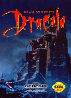 Carátula del juego Bram Stoker's Dracula (Genesis)