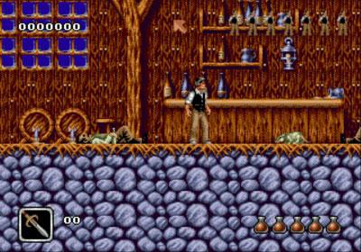 Pantallazo del juego online Bram Stoker's Dracula (Genesis)