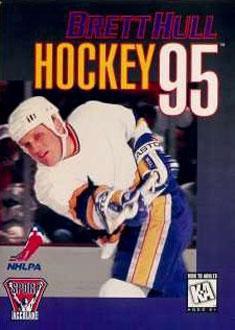 Carátula del juego Brett Hull Hockey 95 (Genesis)