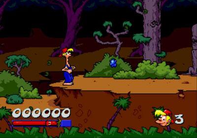 Pantallazo del juego online Bubba N' Stix (Genesis)