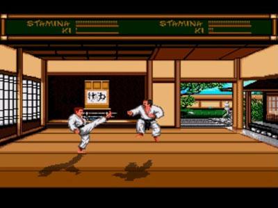 Pantallazo del juego online Budokan - The Martial Spirit (Genesis)