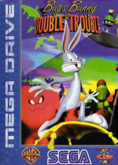 Carátula del juego Bugs Bunny in Double Trouble (Genesis)