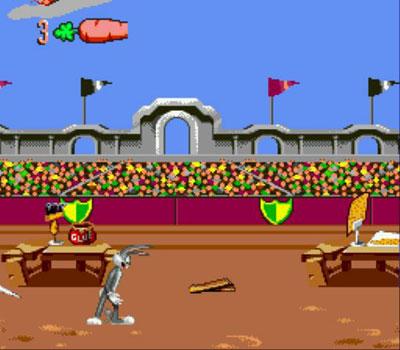 Pantallazo del juego online Bugs Bunny in Double Trouble (Genesis)